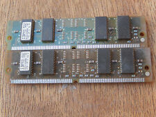 LOT OF 2 IBM B1D11320BA-70 4MB SDRAM memory stick  cf4-23
