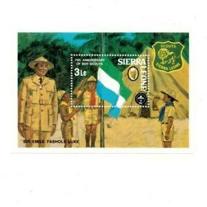 VINTAGE CLASSICS - Sierra Leone 539 Boy Scouts - Souvenir Sheet - MNH