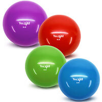 Yes4all Toning Ball Premium Yoga Exercise Soft Gym Therapy Workout Weighted