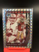 2020 Panini Mosaic Football Swagger Jimmy Garoppolo Silver Prizm 49ers