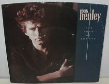 """1984 Don Henley """"Boys of Summer"""" & """"A Month of Sundays"""" 45 Record w/ Sleeve"""