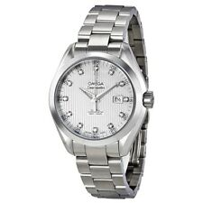 23110342055001 | BRAND NEW WOMEN'S OMEGA SEAMASTER AQUA TERRA DIAMOND WATCH