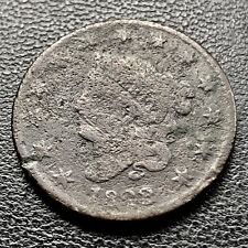 1823 Large Cent Coronet Head Rare Key Date #7604