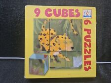 Djeco Nine Cubes Jungle Puzzle *SUPPORTS NHS
