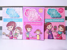 Lot of 3x Ella and Olivia Books including 4 stories in 1 Book! Kids Books!