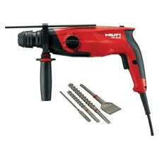 Hilti Rotary Hammer Drill Corded 120 Volt Sds Plus Te 3 C Performance Package
