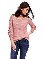 NEW Women's Old Navy Roll Neck Colorblock / Heathered Long Sleeve Sweater S M L