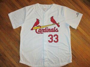 ST LOUIS CARDINALS WALKER 33 JERSEY Baseball LARRY MLB SGA Adult XL