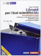 Amaldi per i licei scientifici.blu. Con Physics in english. Con inter active e-b