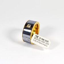 585 Gelbgold Ring 1 Diamant 0,32ct. Champ./Si Flandern Schliff Gr.62 UVP 3188€