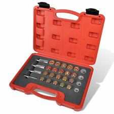Auto Oil Drain Plug Sump Damaged Thread Repair Tool Kit 64 pcs M13 M15 M17 M20