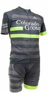 Cuore Colorado Group Short Sleeve Cycling Kit Men LARGE Black Road Bike MTB Race