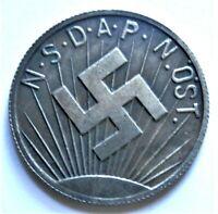 WW2 GERMAN COMMEMORATIVE COLLECTORS REICHSMARK COIN '36 - '37