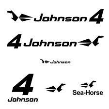 kit stickers JOHNSON 4 cv serie 0 - autocollant pour capot moteur - decals