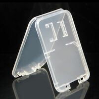 Clear Standard HC TF Card Storage Box Memory Card Cases