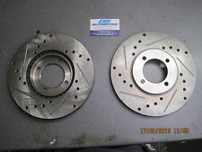 Mk1 Mk2 Escort Rs2000 Capri 2.8i Mexico 247mmX 21mm Vented Brake Discs