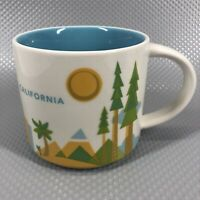 Starbucks California You Are Here Coffee Mug Cup 2013