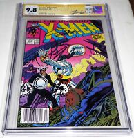 Uncanny X-Men #248 3x Signature Autograph 1st JIM & STAN LEE CHRIS CLAREMONT 9.8