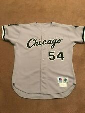 Barry Lyons 1985 MLB Chicago White Sox game used jersey