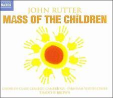 John Rutter: Mass of the Children, New Music
