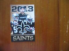 New Orleans Saints 2013 Pocket Schedule
