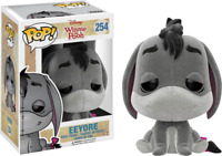 Flocked Eeyore Funko Pop Vinyl New in Mint Box + Protector