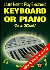 Learn How to Play Electronic Keyboard or Piano - Easy Beginners Guide Any Age
