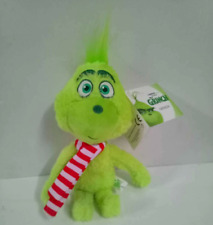 38cm Dr Seuss Grinch Scarf Plush Toy Soft Christmas Gift