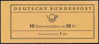 BUND 1960, MH 6 fa R2, tadellos postfrisch, Mi. 80,-