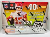 2020 Panini Mosaic NFL Football Target Mega Box New Sealed Gold Fluorescent