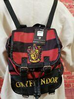 NWT Harry Potter  Griffindor  Backpack School Travel Daypack ages14 & older