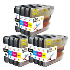 12PK LC61 Ink Cartridge Set for Brother MFC-295CN MFC-6490CW MFC-5895CW MFC-250C