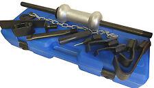 13pc Dent Puller Universal Tool Kit 10lb Slide Hammer Car Body Repair Tool Set