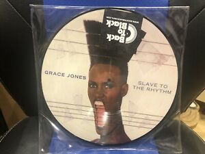 BRAND NEW LIMITED EDITION GRACE JONES SLAVE TO THE RHYTHM PICTURE DISC SEALED