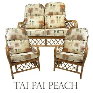 REPLACEMENT CUSHIONS/COVERS FOR CANE/WICKER CONSERVATORY FURNITURE (PIPED)