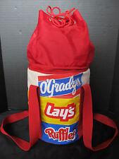Vintage 1980s O'Gradys, Lays, Ruffles, Potato Chip Soft Advertising Cooler, NOS