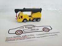 1976 Matchbox Lesney Crane Truck #49 - Black Boom with Red Hook