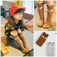 Cute Baby Kid Toddlers  Girls Knee High Socks Tights Leg Warmer Stockings