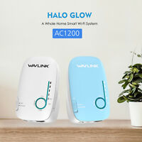 Wavllink 1200Mbps Mesh WiFi System Dual-Band 2.4GHz&5GHz Smart Whole Home 2 Pack