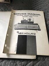New Holland 1469 Haybine Mower Conditioner Service Manual 40146910