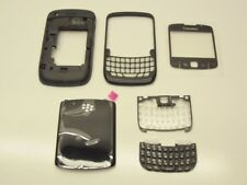 New BlackBerry Curve 8520 Black FULL Housing Original OEM Replacement Parts *
