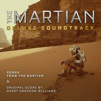 The Martian(DELUXE EDITION) Soundtrack 2CD NEW ABBA/GLORIA GAYNOR/DONNA SUMMER
