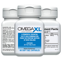 60ct Omega 3 Non Fish Oil Small, Potent, Joint Pain Relief - Omega-3