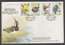 Gb 1980 Wild Bird Protection Illustrated Fdc Special Cancel (Id:281/D46682)