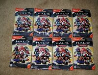 Halo Mega Construx 2017 WARRIOR Series Figures, with 8 Different Codes,SEALED