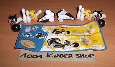 KINDER DC231 DC 231 LOONEY TOONS TUNES SHOW SYLVESTER - 2 VARIANTES + 1 BPZ