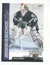 2009-10 Manchester Monarchs (AHL) Jeff Zatkoff (Cleveland Monsters)