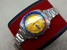 VIN SEIKO PEPSI POGUE 6139-6002 AUTO CHRONO MEN'S WATCH JAPAN DAY/DATE TOP CONDI
