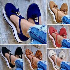 Новые женские сандалии, полиуретановая дышащая обувь на плоской подошве летние кисточкой лодыжки обернуть обувь