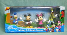 DISNEY  MICKEY AND FRIENDS, 4  MINI FIGURINES